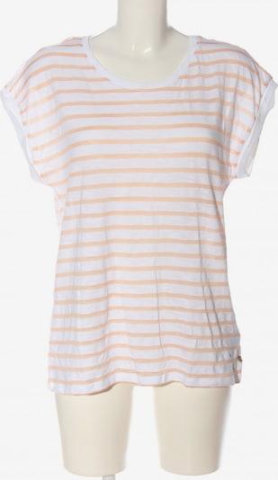 ESPRIT Ringelshirt in L in nude / weiß, Produktansicht