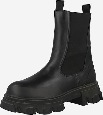 Public Desire Boots ' Wonder' in Schwarz
