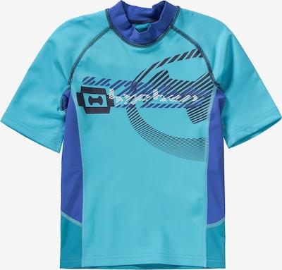 HYPHEN T-Shirt in blau / hellblau: Frontalansicht