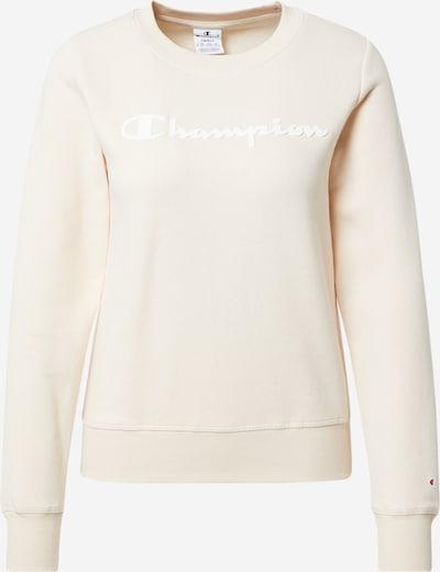 Champion Authentic Athletic Apparel Sweatshirt in de kleur Crème / Wit, Productweergave
