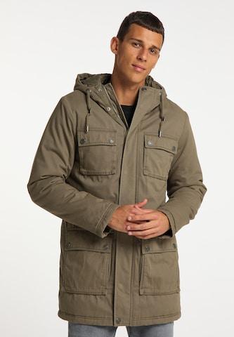 Manteau d'hiver MO en vert