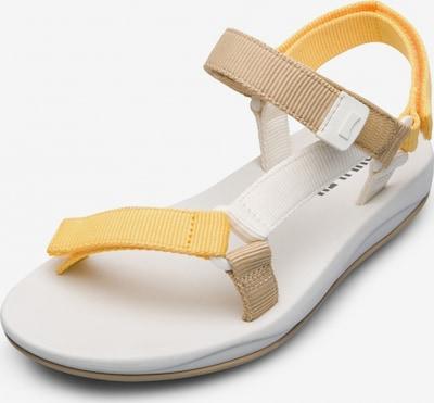 CAMPER Sandale in hellbraun / gelb, Produktansicht