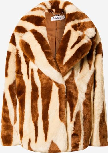 JAKKE Prechodný kabát 'RITA' - krémová / hnedá, Produkt