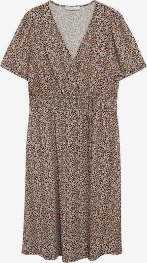 MANGO Kleid in hellbraun / helllila / pastellrot / schwarz / weiß, Produktansicht