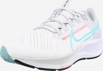 NIKE Jooksujalats 'Air Zoom Pegasus 38', värv valge