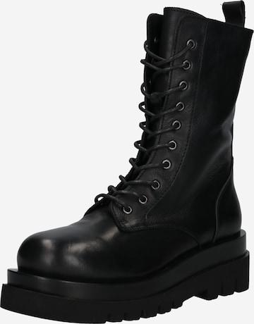 juoda INUOVO Suvarstomieji batai
