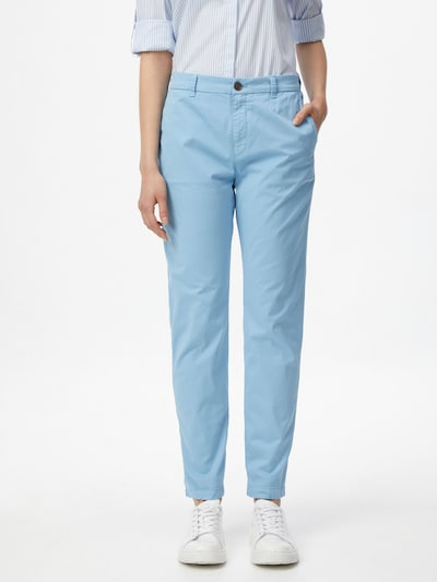BOSS Casual Chino trousers 'C_Tachini-D' in Light blue, View model