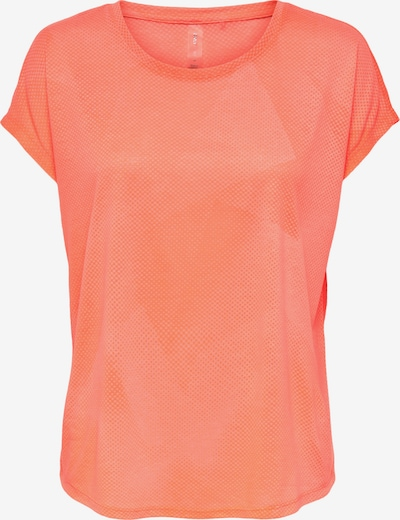 ONLY PLAY T-shirt fonctionnel 'Fan' en orange pastel, Vue avec produit