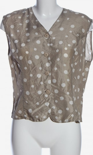Jürgen Michaelsen Hemd-Bluse in S in braun / weiß, Produktansicht