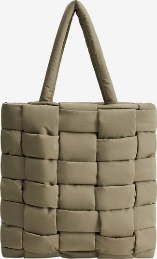 MANGO Ručna torbica 'Edredon' u kaki, Pregled proizvoda