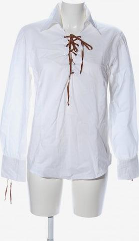 AUST Langarm-Bluse in XXL in Weiß