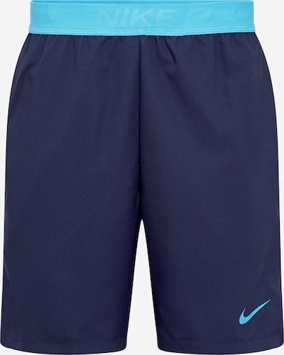 NIKE Tehničke hlače 'Flex Vent Max 3.0' u mornarsko plava / tirkiz, Pregled proizvoda