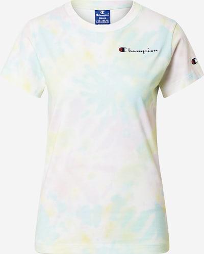 Champion Authentic Athletic Apparel T-Shirt in türkis / gelb / rosa / weiß, Produktansicht