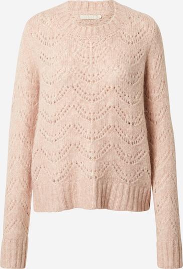 PIECES Pullover in pastellpink, Produktansicht
