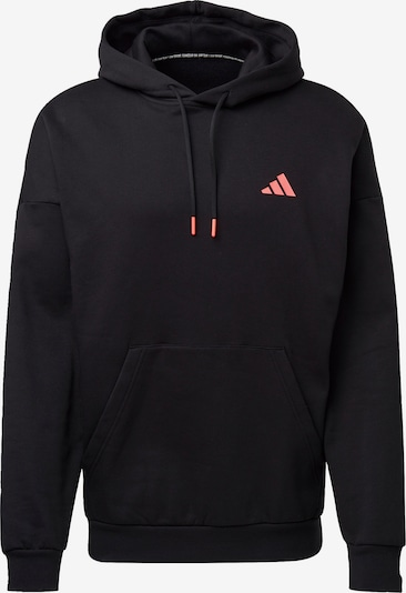 ADIDAS PERFORMANCE Sweatshirt in rot / schwarz / weiß: Frontalansicht