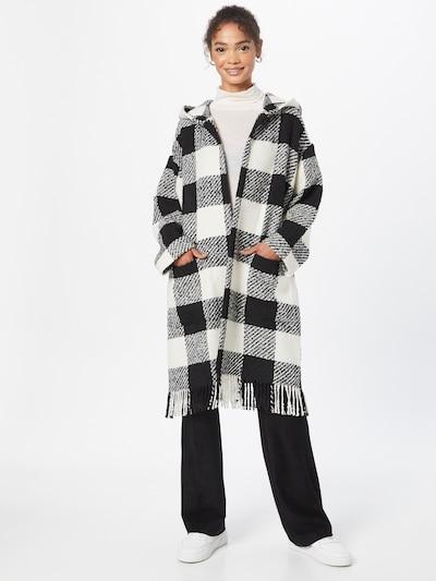 MAX&Co. Strickmantel 'FULGORE' in schwarz / weiß, Modelansicht