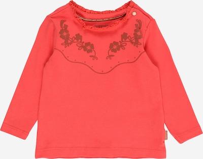 Noppies Majica | rjava / rdeča barva: Frontalni pogled