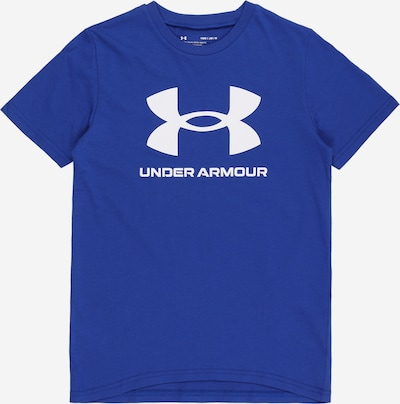 UNDER ARMOUR Sportshirt in blau / weiß, Produktansicht