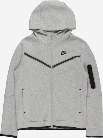 Nike Sportswear Sweatvest in de kleur Grijs / Zwart, Productweergave