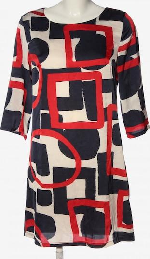 Sweet Miss Minikleid in S in rot / schwarz / wollweiß, Produktansicht