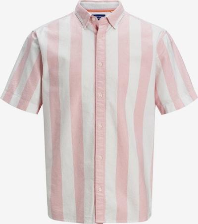 JACK & JONES Hemd in rosa / weiß, Produktansicht