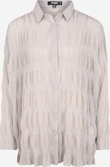 Missguided (Tall) Blouse in de kleur Lichtgrijs, Productweergave