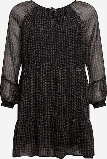 Noisy May Curve Robe 'Utzie' en gris / noir, Vue avec produit