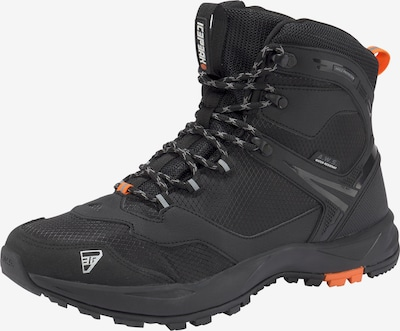 ICEPEAK Boots in grau / orange / schwarz / weiß, Produktansicht