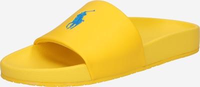 POLO RALPH LAUREN Pantoletter 'CAYSON' i blå / gul, Produktvisning