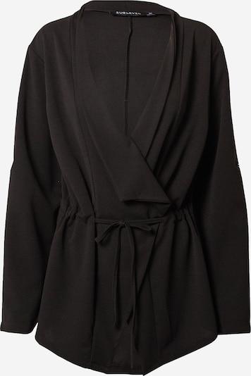 Sublevel Плетена жилетка 'D50017F43403A2' в черно, Преглед на продукта
