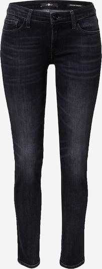 7 for all mankind Jeans 'PYPER' in black denim, Produktansicht