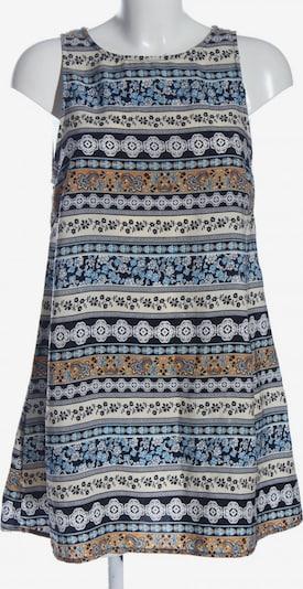 GLAMOROUS A-Linien Kleid in M in blau / hellorange / weiß, Produktansicht