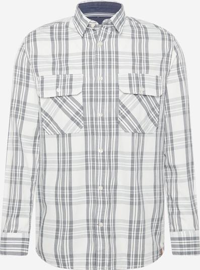 TOM TAILOR Sweatshirt in grau / weiß, Produktansicht