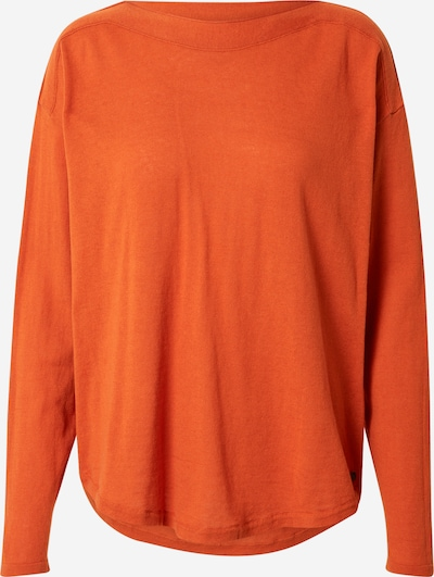 TOM TAILOR DENIM Pullover in orange, Produktansicht