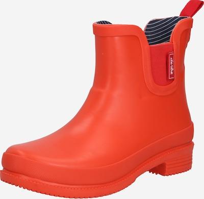 Derbe Stiefel in orangerot, Produktansicht