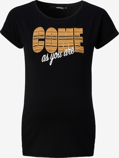 Supermom Shirt 'Come As You Are' in Orange / Black / White, Item view