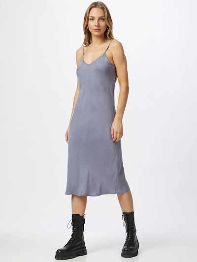 DENHAM Kleid 'MERYL' in taubenblau, Modelansicht