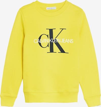 Calvin Klein Jeans Sweatshirt in gelb, Produktansicht