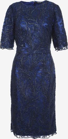 Madam-T Cocktailjurk 'Tropicana' in de kleur Blauw, Productweergave