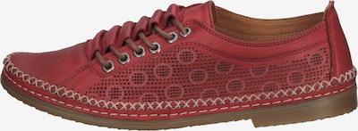 COSMOS COMFORT Chaussure de sport à lacets en rouge, Vue avec produit