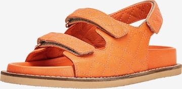 INUOVO Sandale in Orange