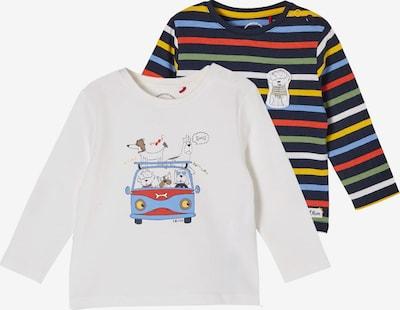 s.Oliver Bluser & t-shirts i blandingsfarvet / hvid, Produktvisning