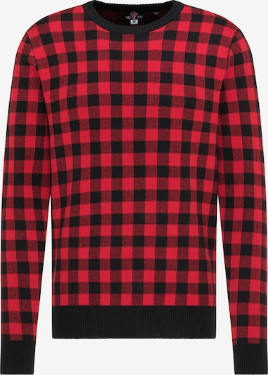 Pulover HOMEBASE pe roși aprins / negru, Vizualizare produs