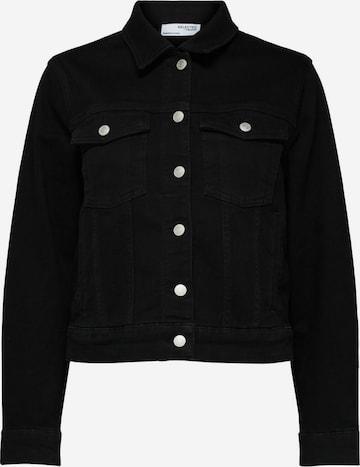 Selected Femme Curve Between-Season Jacket in Black