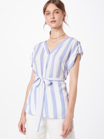 Camicia da donna 'Lillian' di ZABAIONE in blu