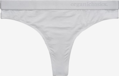 Organic Basics String in hellgrau, Produktansicht