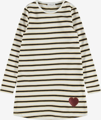 NAME IT Dress in Gold / Black / White, Item view