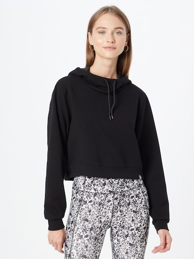ONLY PLAY Athletic Sweatshirt in Black: Frontal view
