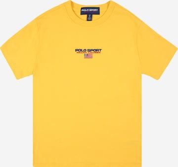 T-Shirt Polo Ralph Lauren en jaune