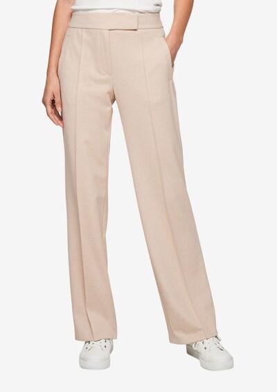 s.Oliver BLACK LABEL Regular: Hose aus Jersey in beige, Modelansicht